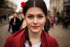 noroc has spent three years traveling for her atlas of beauty series this woman was photographed on the streets of moldova